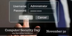 Computer Security Day - November 30