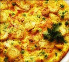 Ricetta di Alessandra Spisni: Frittata al forno con cipolle