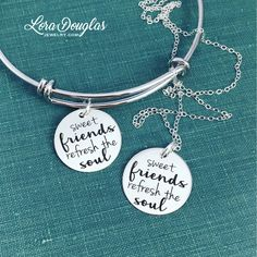 Sweet friends refresh the soul #Jewelry #handmadejewelry #jewelrymaking #squadgoals #accessories #style #handmade #etsy #friendsforever #etsyseller #etsyjewelry #musthave #fashionjewelry #friends #fashion #friendshipquotes #love