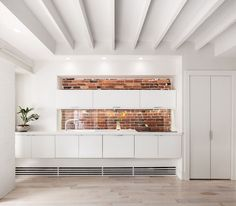 Myrtle apartment renovation kitchen, Boston's Beacon Hill / architect Chris Greenawalt of Bunker Workshop / ph: Matthew Delphenich