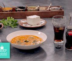 Χυλωμένη φασολάδα Food Categories, Cheeseburger Chowder, Vegan Recipes, Curry, Good Food, Sweet Home, Soup, Ethnic Recipes, Interesting Recipes