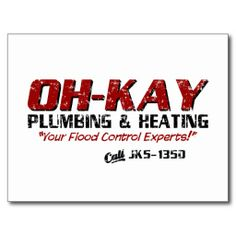 >>>Cheap Price Guarantee          	OH-KAY Plumbing & Heating (Distressed) Postcard           	OH-KAY Plumbing & Heating (Distressed) Postcard today price drop and special promotion. Get The best buyDeals          	OH-KAY Plumbing & Heating (Distressed) Postcard Review on the This w...Cleck Hot Deals >>> http://www.zazzle.com/oh_kay_plumbing_heating_distressed_postcard-239785231210664356?rf=238627982471231924&zbar=1&tc=terrest