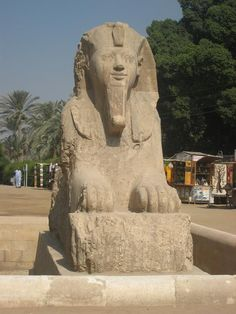 Monuments, Statues, Ancient Egypt, Memphis, Mount Rushmore, Mountains, Nature, Travel, Egypt
