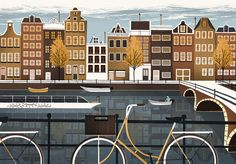 "<b>BEER ADVOCATE</b><br>AMSTERDAM<br><br>""I Amsterdam"".<br>Also available as a print in my shop."