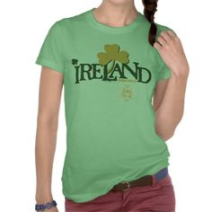Shamrock Ireland Quidditch T Shirts #stpatricksday #stpattys #stpattysday #zazzle #green #harrypotter #ireland #quidditch #shamrock #lucky #sweepstakes