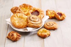 Tea-Time with our great Danish Pastries