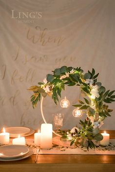 Material: Ling's best selling artificial foam roses and artificial greeneries. flower centerpiece with 60 LEDs, requi. Sweet 16 Centerpieces, Sweet 16 Decorations, Bridal Shower Decorations, Flower Centerpieces, Flower Decorations, Wedding Centerpieces, Wedding Table, Rustic Wedding, Wedding Decorations