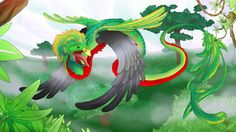 Bilderesultat for quetzalcoatl bird