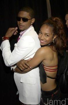 Usher and chili dating