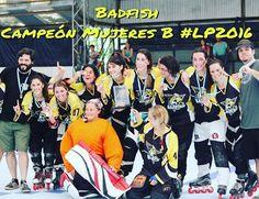 Badfish Campeón categoría Mujeres B #lp2016 #champion #liga #argentina #roller #hockey http://ift.tt/2fR1Dzu - http://ift.tt/1HQJd81