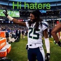 Hi Haters! Go Hawks =)