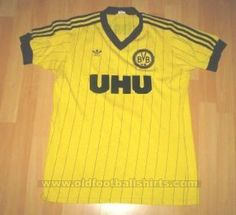 Borussia Dortmund Home football shirt 1982 - 1983