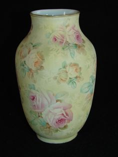 Royal Bayreuth Rose Tapestry Vase