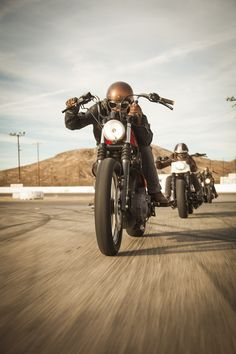 "Triumph Motorcycle ""the Wanderer"" by Roland Sands Design #motorcycle #motorbike"
