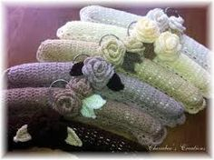 knitted coat hanger cover patterns - Google Search