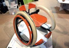 SALONE MILAN 2012: SALONE INTERNAZIONALE DEL MOBILE - SaloneSatellite: Mobi Wheel Chair - Jack Martinich - Core77