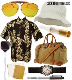 Fear and Loathing in Las Vegas costume