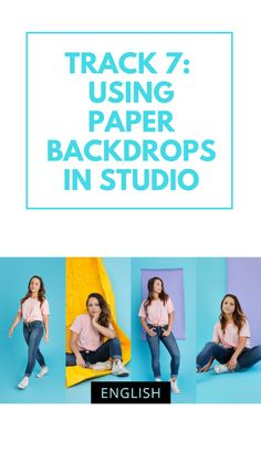 Using Paper Backdrops in Studio with Elaine Torres