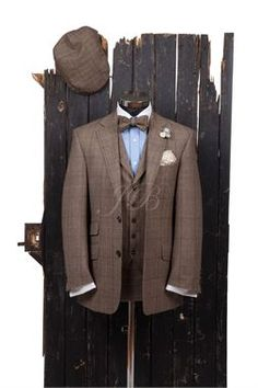 or, for the groom. Brown Suit   Amos and Boris Wedding   Pinterest ...