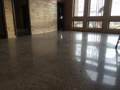 Hard and Strong Decorative Concrete Polishing in New House in Greenbrier, Arkansas.
