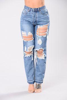 8f4af549453 Ryan Boyfriend Jeans - Medium · PantalonesModaVaqueros ...
