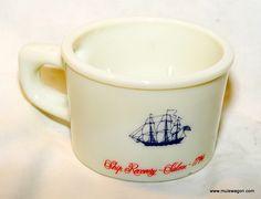 Vintage Old Spice Shaving Mug - Made in Belgium - Shulton * The Mule ...