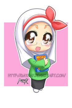 Chibi Miss Noor by Nayzak