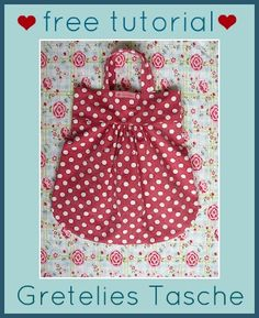 Gretelies Tasche - mittlerweile ein Klassiker, vielfältig abänderbar, auch mit Kellerfalten oder langen Tragegurten