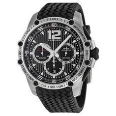 Chopard Men's 168523-3001 Classic Racing Black Dial Watch #Chronograph http://www.myswisswatchbrands.com/watches/chopard/chopard-mens-168523-3001-classic-racing-black-dial-watch/