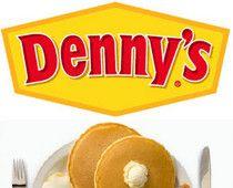 Denny's at midnight
