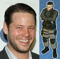 """Ike Barinholtz as Michael """"El Rodrigo"""" Rodriguez was Umbrella Biohazard Countermeasure Service Squad C, Bravo Mercenary Lieutenant in digital world. He was also Mexican Army in Mexico. Ed Anderson and Mikhail Victor hired him to be part of Squad C, Bravo Platoon. In September 28th, 1998. He was deploy in Odaiba City, and they retreat to their teammates. In September 29, 1998. He was killed in Odaiba city Hall He was shot by Nicholai at leg, eaten by zombies with 6 Mercenaries."""