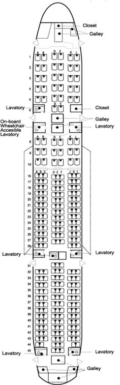 BOEING 777 / (J - seating chart on your plane.    Vacations mean you sit with the rest of us, not in the cockpit)