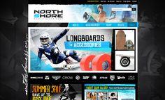 Northshoress.com E-commerce Website Design  www.dblmediastudio.com