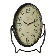 Rustic shelf clock. £25.99  http://www.worldstores.co.uk/p/Rustic_Shelf_Clock.htm