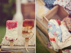 Inspiration for a back garden movie night hen party with patchwork quilts and homemade popcorn