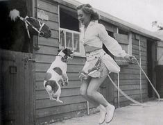 People and Animals – Vintage Photos Capture Lovely Moments of Animals with People
