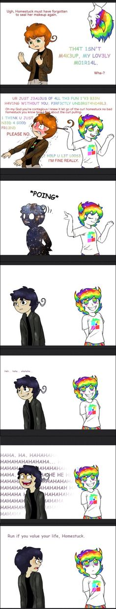 XD I'm dying! 2p!Hetalia and Homestuck Haitus Fandomstuck. I'm not really a fan of Homestuck, but I did fine this hilarious.<==I'm a fan of homestuck and the hiatus fandom it's amazing and I can't stop being obsessed with it
