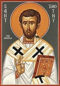 St. Timothy  When Paul and Barnabas first visited Lystra, Paul healed one crippled from birth, leading many of the inhabitants to accept his teaching....(Read the rest of his story here:) https://www.facebook.com/St.Eugene.OMI/photos/a.1490771924522168.1073741828.1490724774526883/1537538119845548/?type=1&theater