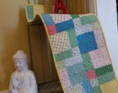 Spring Blossoms Patchwork Quilted Table Runner by CreationsbyWeezie on Etsy, $35.00 USD