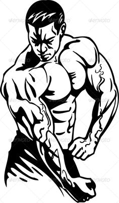 Buy Bodybuilding and Powerlifting by Digital-Clipart on GraphicRiver. Bodybuilding and Powerlifting – vector illustration. Bodybuilding Logo, Bodybuilding Pictures, Aesthetics Bodybuilding, Dojo, Fitness Inspiration Body, Woman Silhouette, Batman Art, Social Media Graphics, Free Vector Art