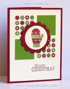 """Julie's Stamping Spot -- Stampin' Up! Project Ideas Posted Daily: New Catalog """"Christmas Morning"""""""