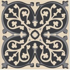Tile stickers - Grey fake cement tiles
