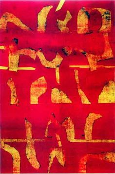 Vasudev Gaitonde has worked on abstract paintings in oil on canvas mediums. He has completed several canvas paintings. Abstract Art Images, Contemporary Abstract Art, Indian Artist, Abstract Painters, Painting Process, Drawing Skills, Oil On Canvas, Canvas Paintings, Abstract Expressionism