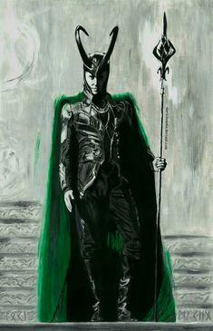 Loki the rightful king by slavicbeastie