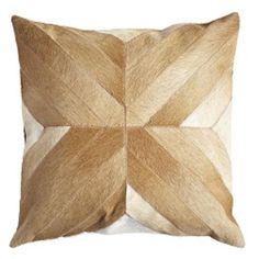 Cowhide Pillow Cover – Cross