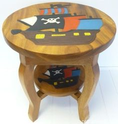 Pirate Ship Table http://www.dazzlemarket.com/ads/pirate-ship-table/