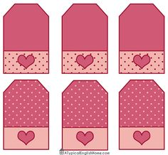 A Typical English Home: Free Valentine's Party Printables