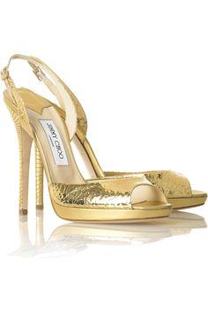 Jimmy ChooEclipse gold sandal