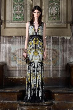 Roberto Cavalli Pre-Fall 2013 Fashion Show
