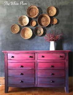 Beautiful Ombre dresser